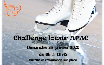 Challenge Loisir APAC 2020