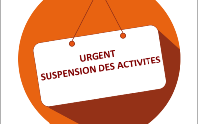 Suspension de l'activité patinage