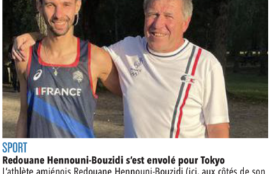 Redouane HENNOUNI-BOUZIDI, ancien patineur qui participe aux JO paralympiques de Tokyo
