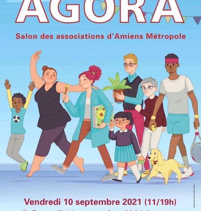 L'APAC AU SALON AGORA le samedi 11 septembre de 10 à 18h